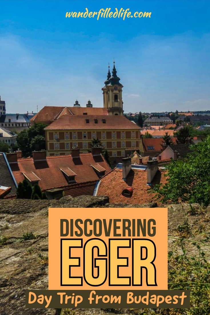 Eger, Hungary is the perfect day trip from Budapest with tasty, authentic Hungarian cuisine and delicious wine, not to mention the culture and history!