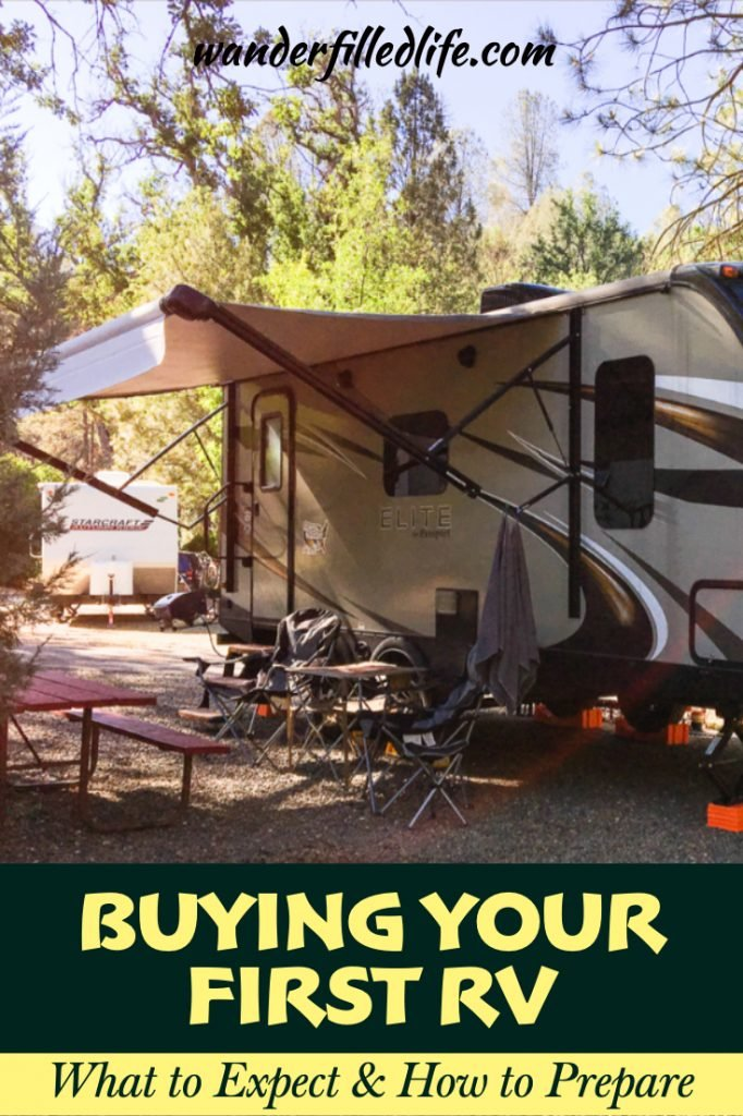 Buying our first RV and getting it ready for the road involved stress, trips to Wal-Mart and two trial camping trips but our first long trip went perfectly! #FirstRV #RVing