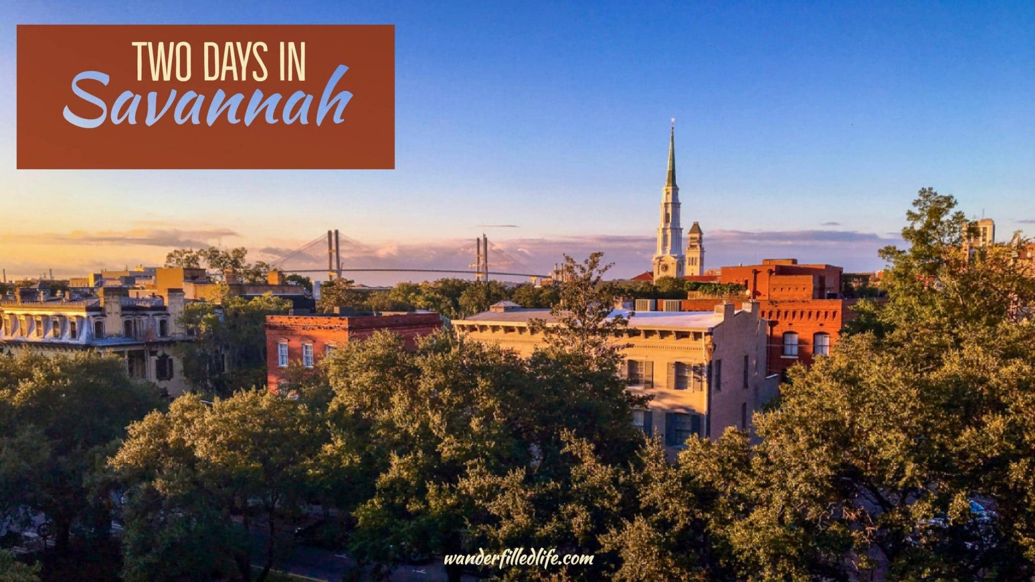 Two Days in Savannah
