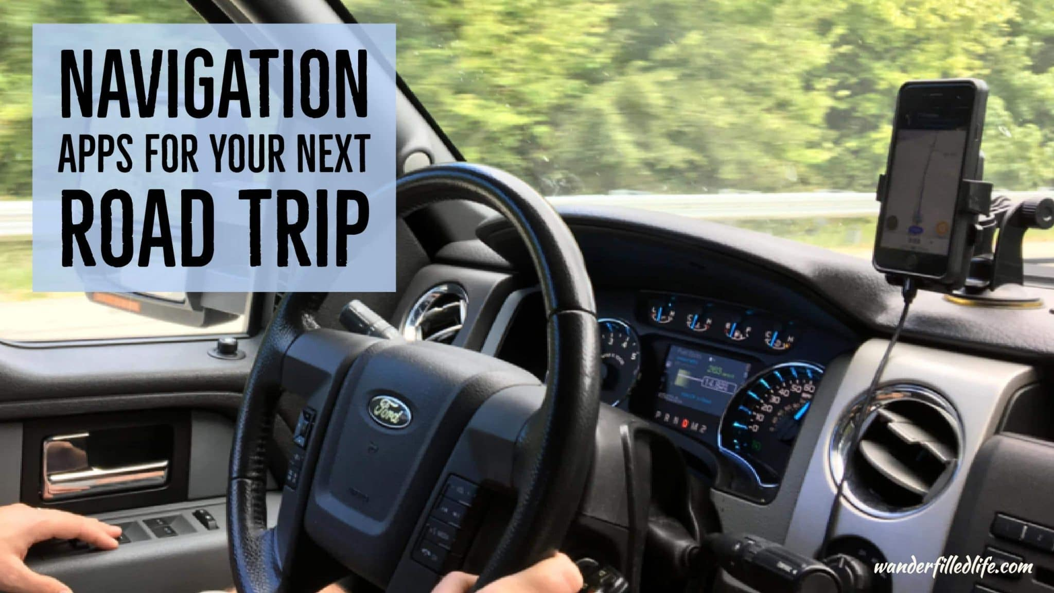 Navigation Apps for Your Next Road Trip