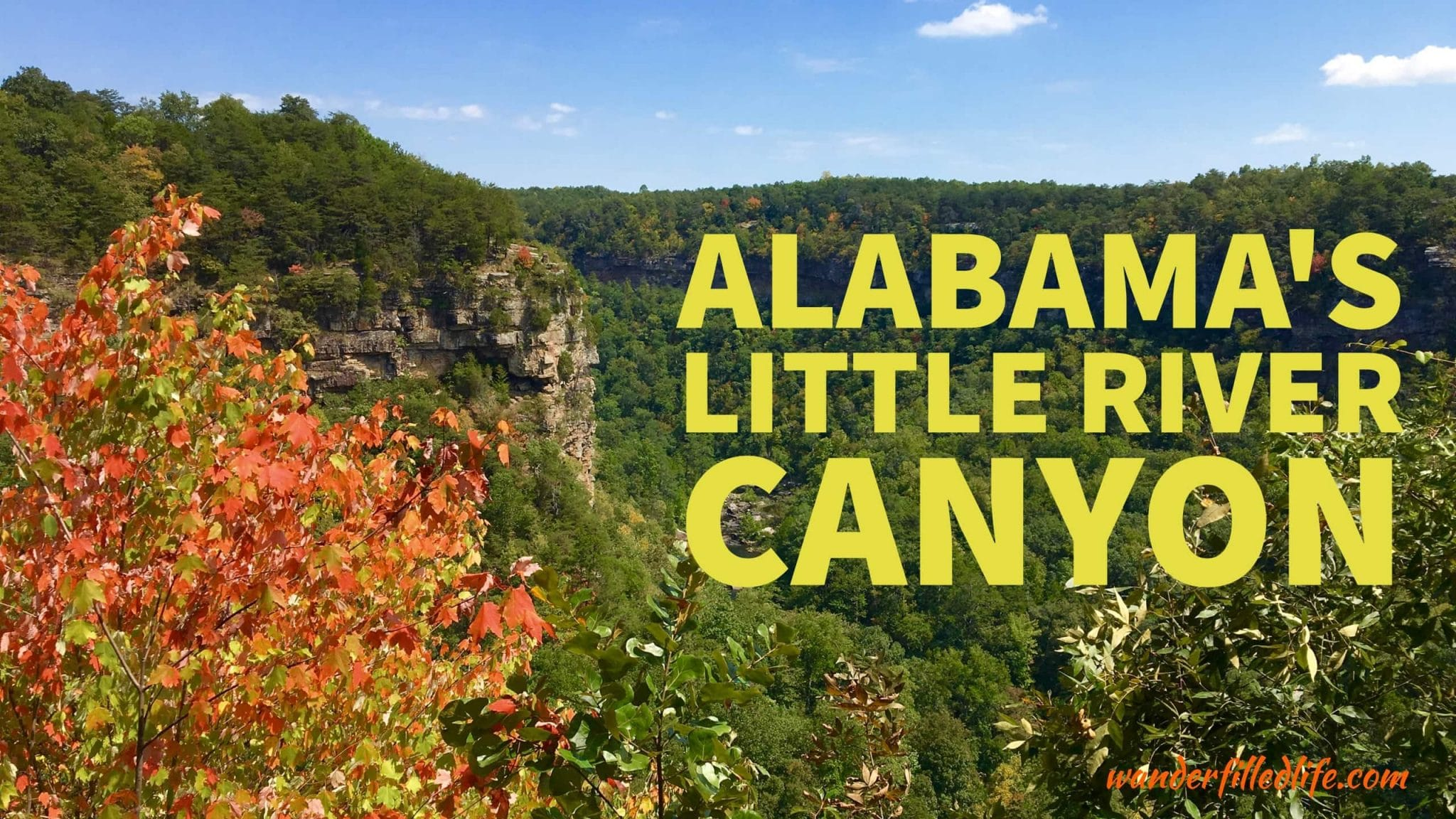 Alabama's Little River Canyon