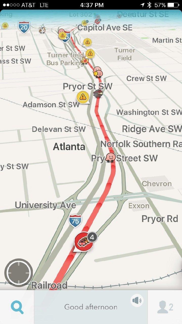 Traffic in Atlanta