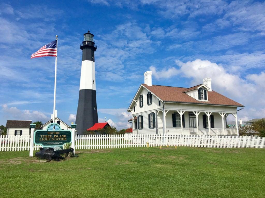 The Tybee Island Light
