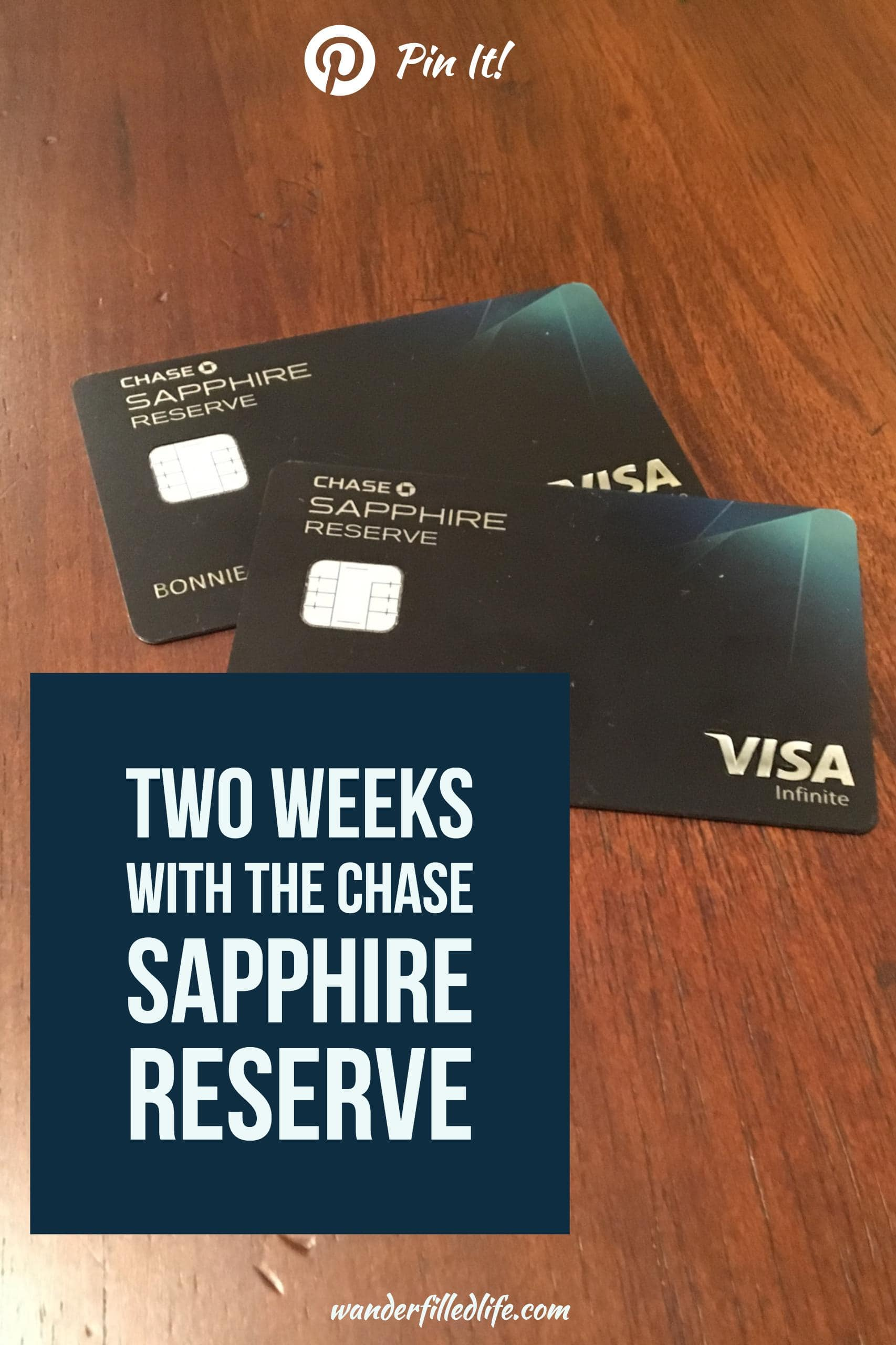 Two Weeks With The Chase Sapphire Reserve