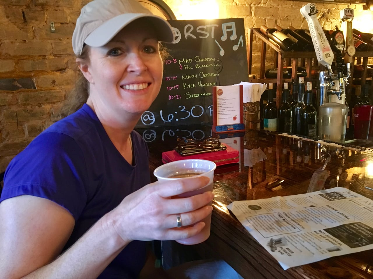 Bonnie at the River Street Tavern
