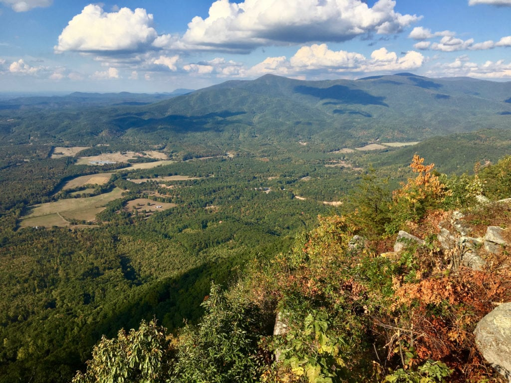 View from Fort Mountain overlook