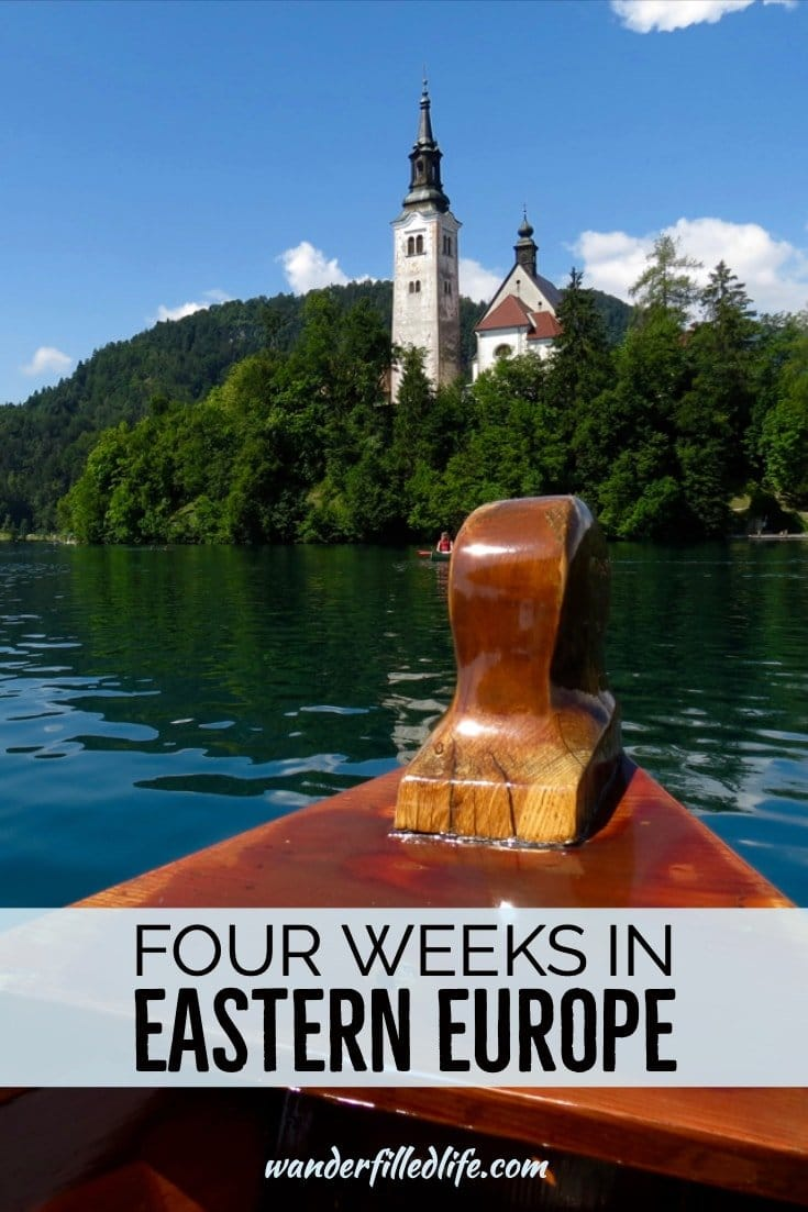 Eastern Europe is packed with amazing sites and cultural treasures. Here's a four week itinerary for Czech Republic, Poland, Slovenia, Hungary and Croatia.