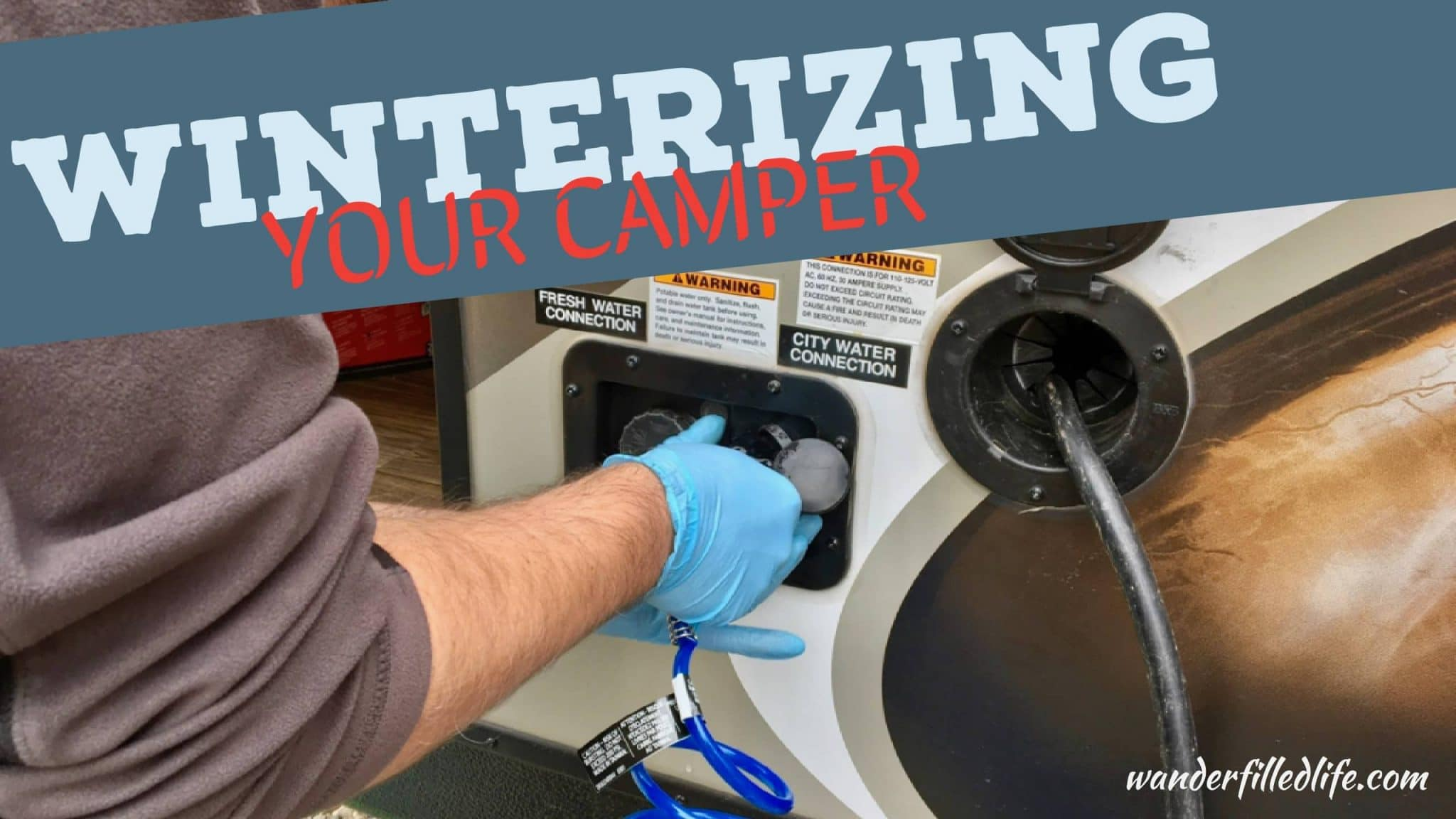 Winterizing Your Camper