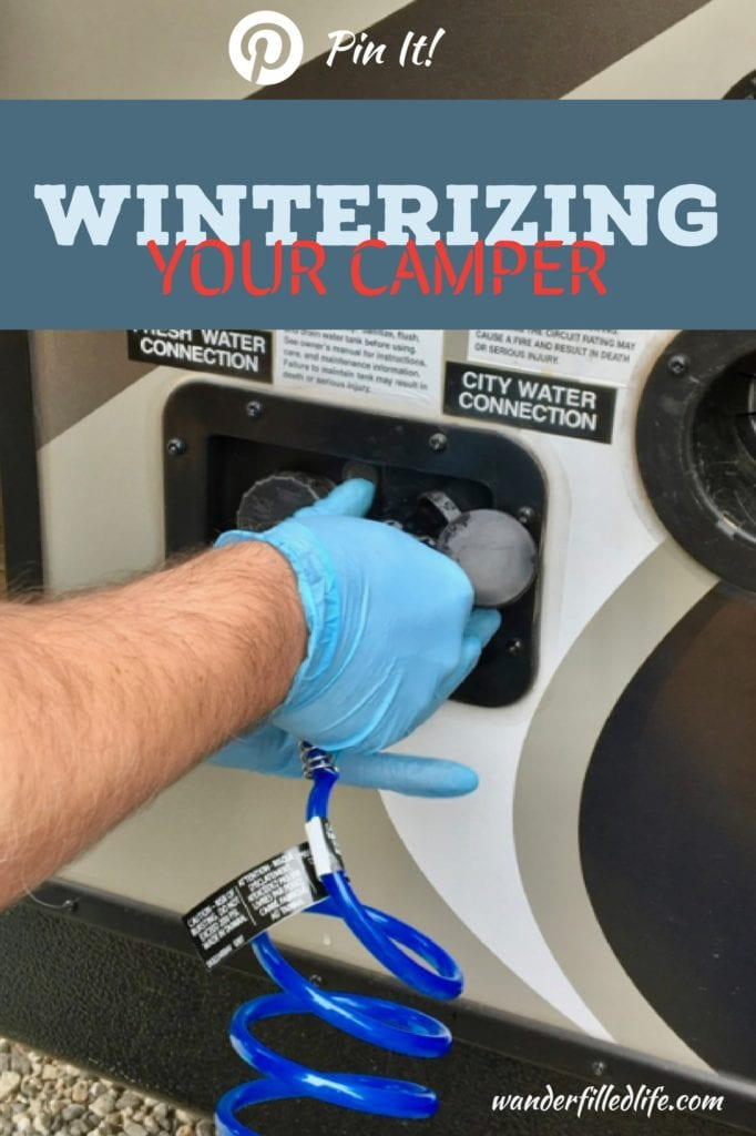Learn how to winterize a camper with a few tools you will want to have on hand anyway.