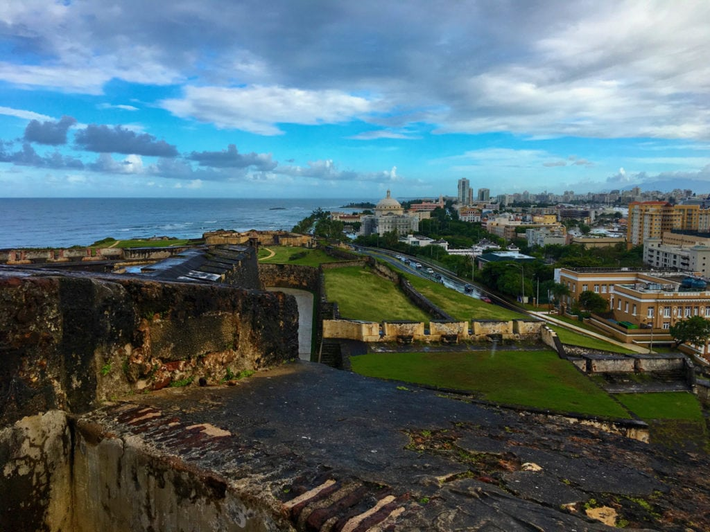 San Juan was a great departure port for our Southern Caribbean Cruise.