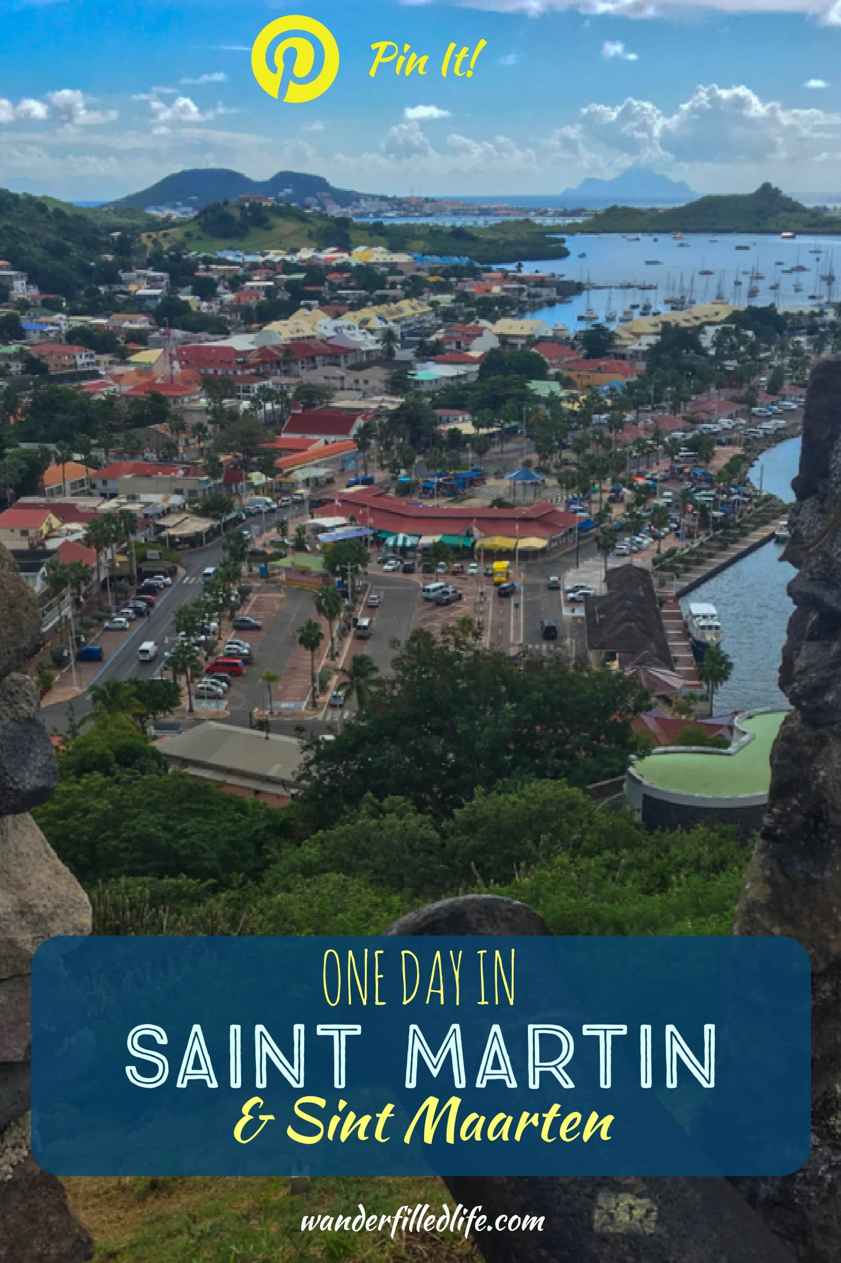 Our visit to Sint Maarten/ Saint Martin... everything from airplanes buzzing the beach to French colonial forts and great deals on whisky.