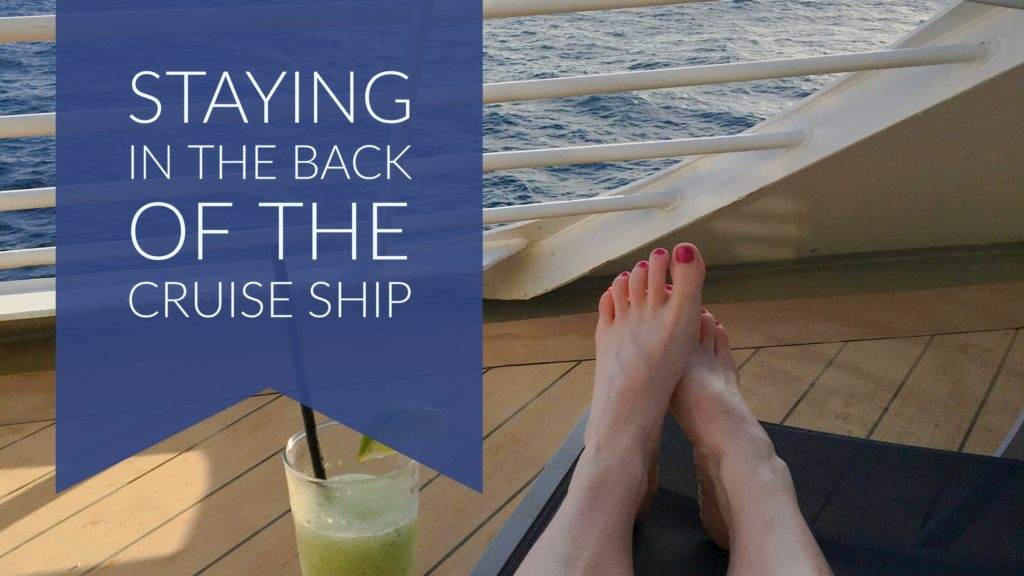 Staying In An Aft Cabin Of The Cruise Ship