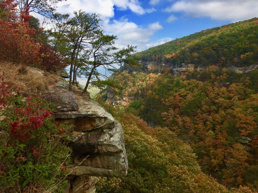 Cloudland Canyon in northeast Georgia