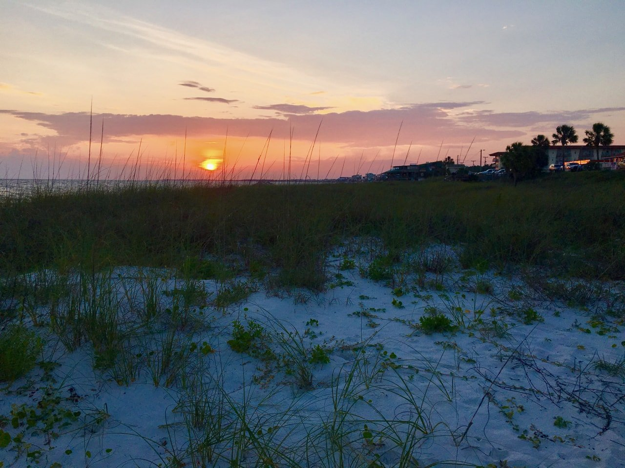 Sunset on Mexico Beach
