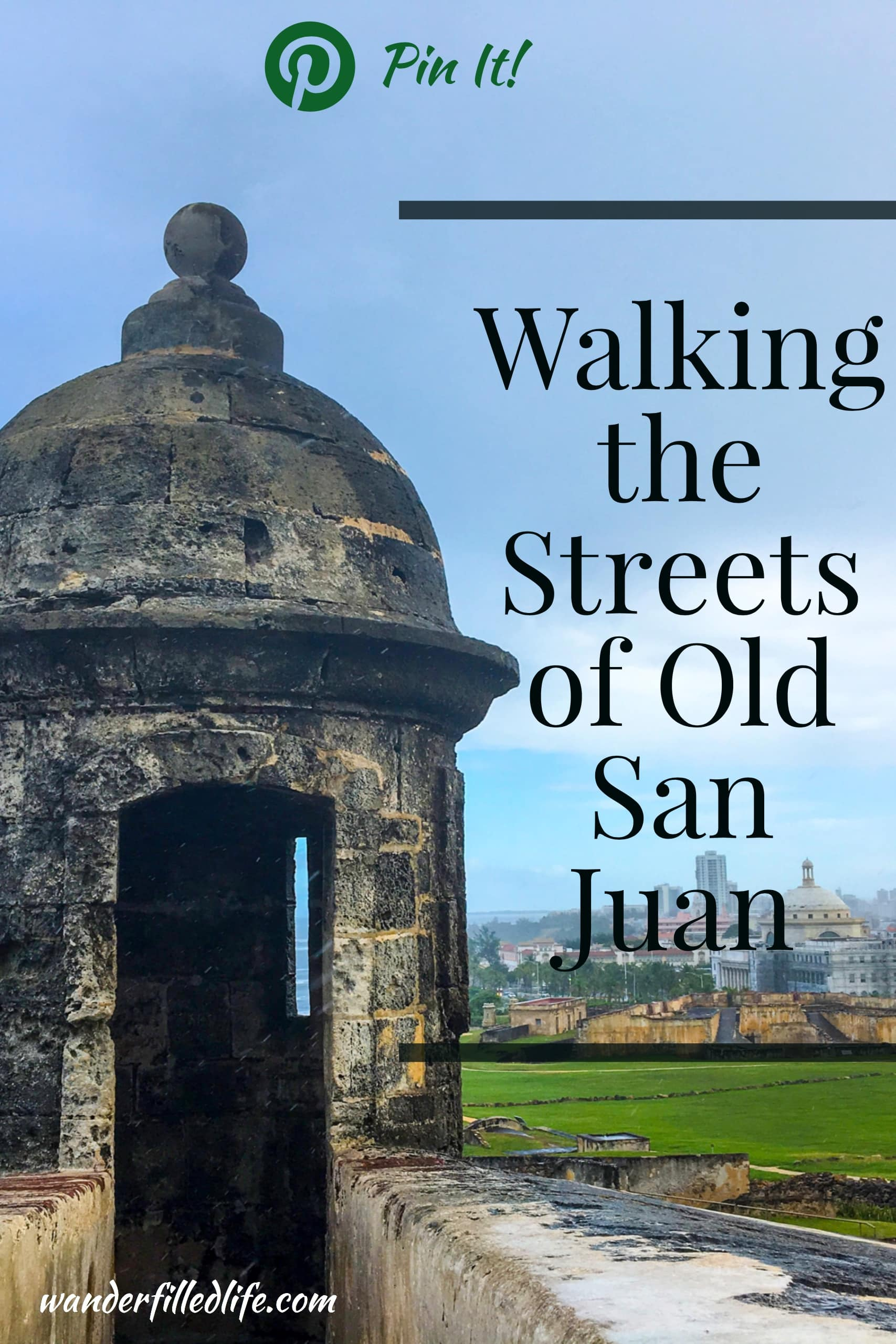 Walking the streets of Old San Juan, our final stop of our southern Caribbean cruise, and seeing the San Juan National Historic Site.