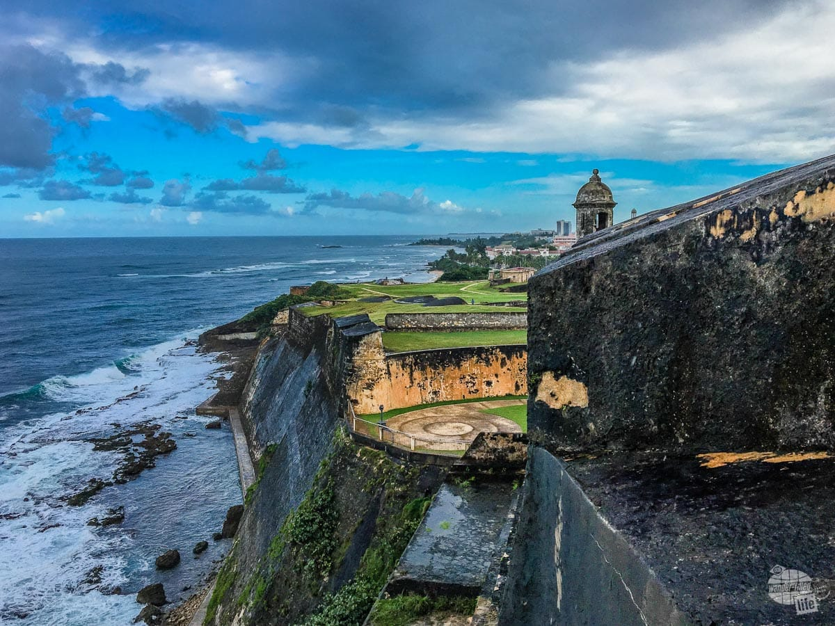 The Castillio San Cristobal provided impressive fortifications for Old San Juan when it was a Spanish Colony.