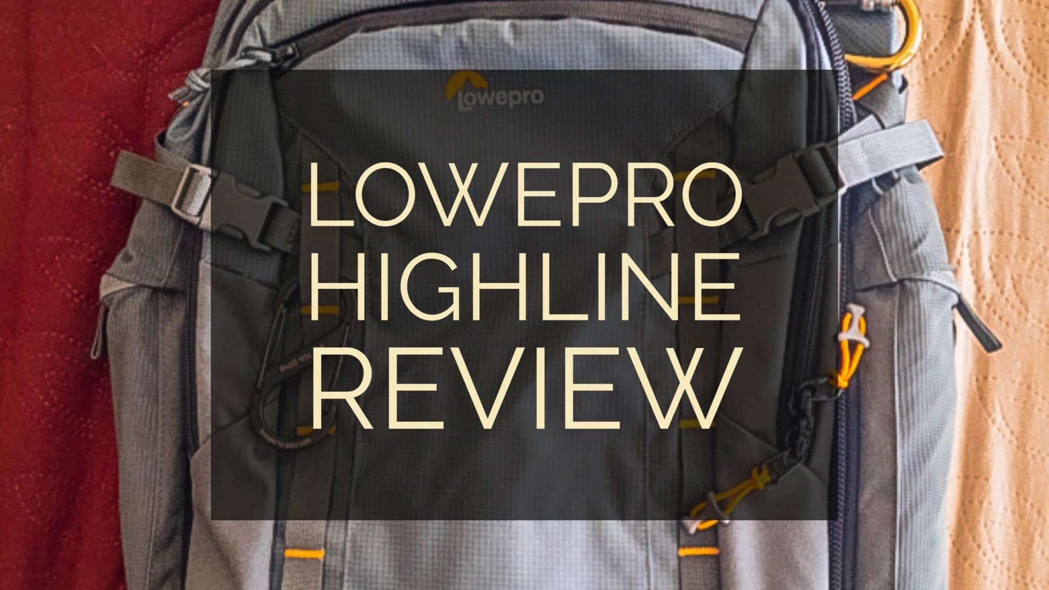 3de5c9b13d Lowepro Highline BP 400 AW Review - A Great Travel Backpack