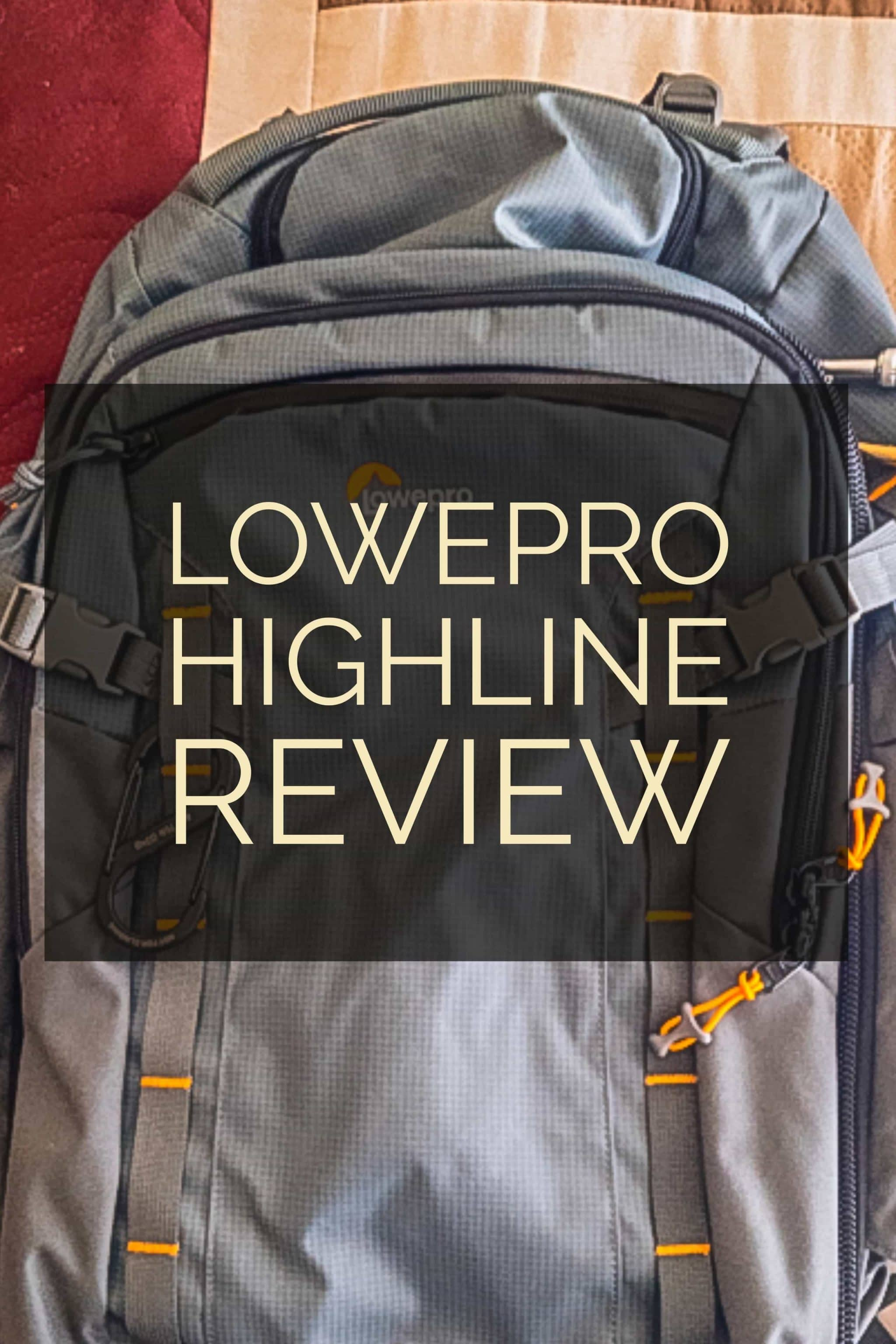 Traveling overseas on a weeklong trip with the Lowepro Highline BP 400 AW: a rugged and thoughtful travel backpack for anyone with a lot of electronics.