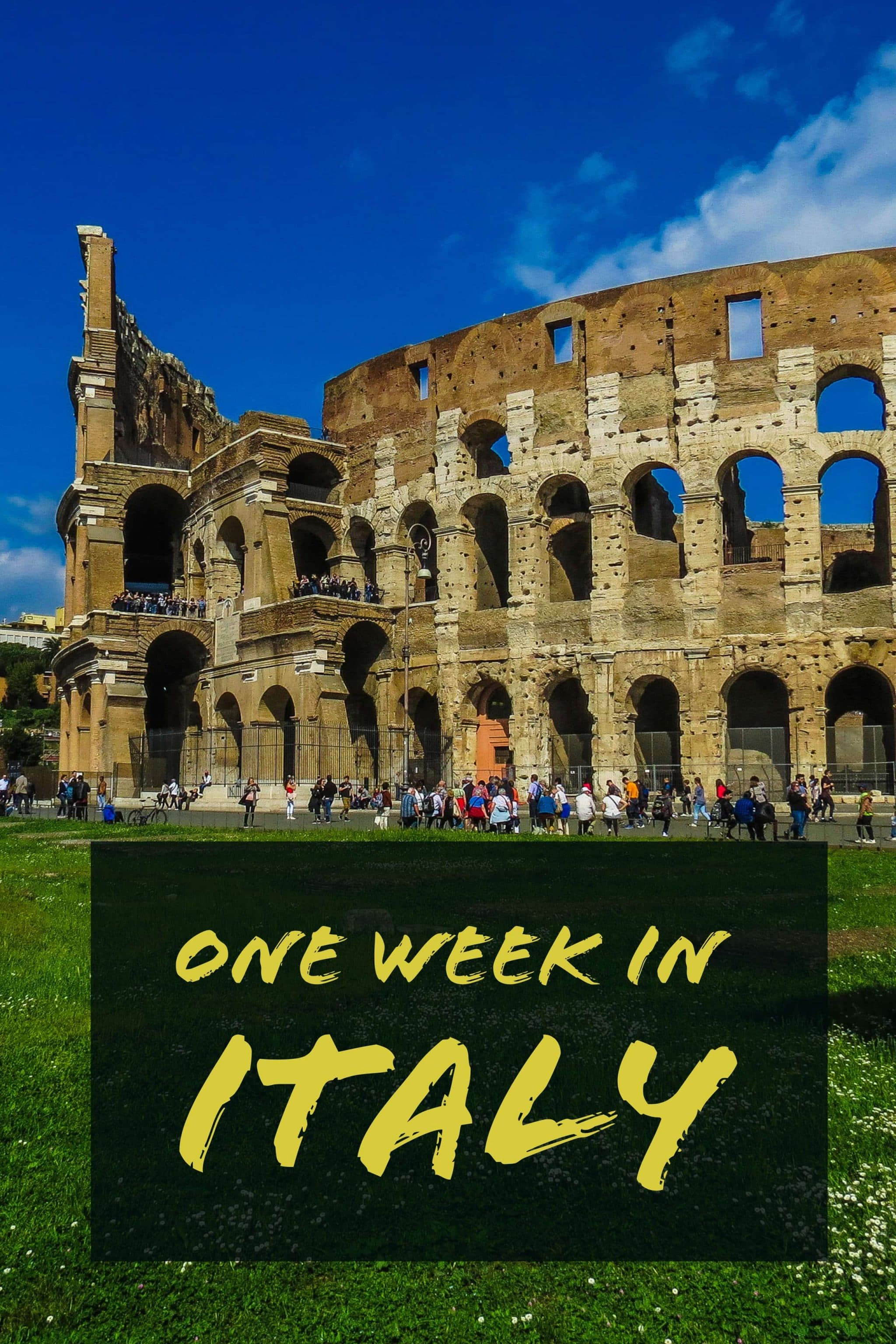 A one week Italy itinerary including visits to Venice, Florence and Rome. We also include suggestions for alternate cities based on your interests and time.
