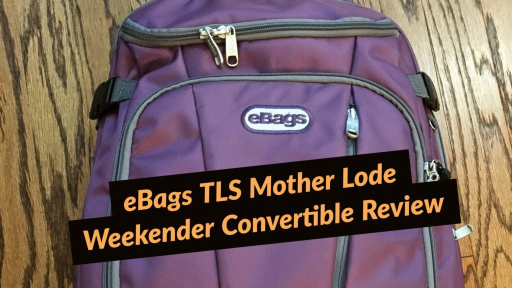 Backpack Review Ebags Tls Mother Lode Weekender Convertible