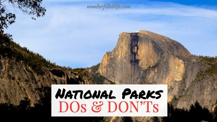 National Park Dos and Don'ts