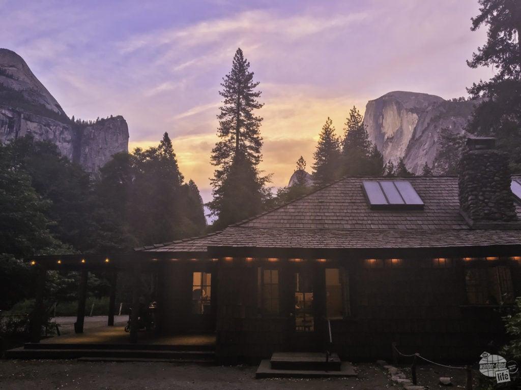 Half Dome Village in Yosemite National Park