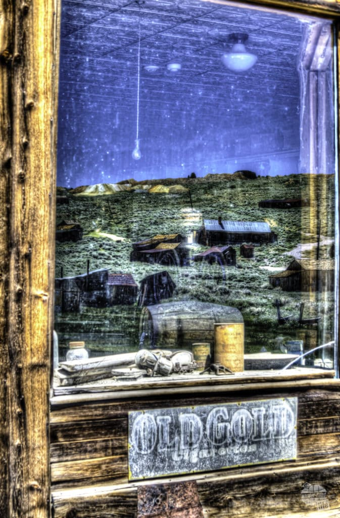 The ghost town of Bodie is just 20 minutes north of Lee Vining.