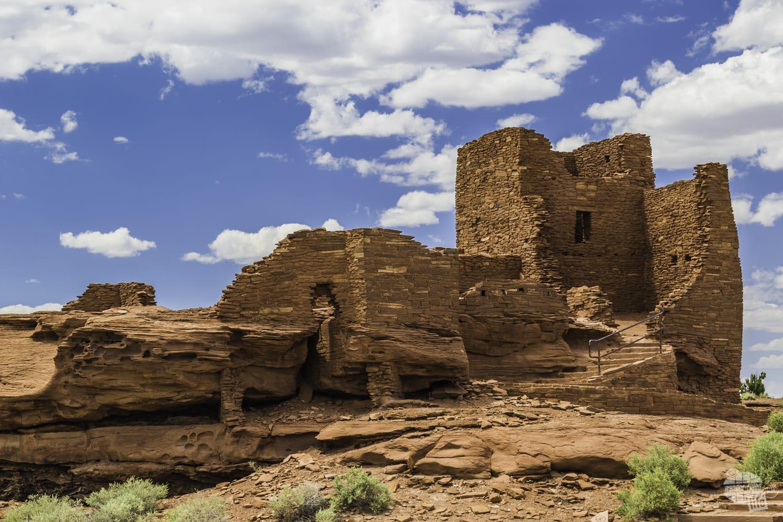 Wukoki Pueblo in Wupatki National MonumentWukoki Pueblo in Wupatki National Monument