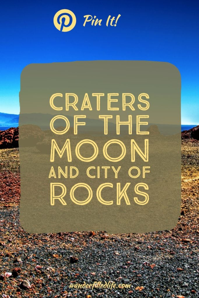 Southern Idaho is home to two very unique geologic sites: Craters of the Moon National Monument and City of Rocks National Reserve.