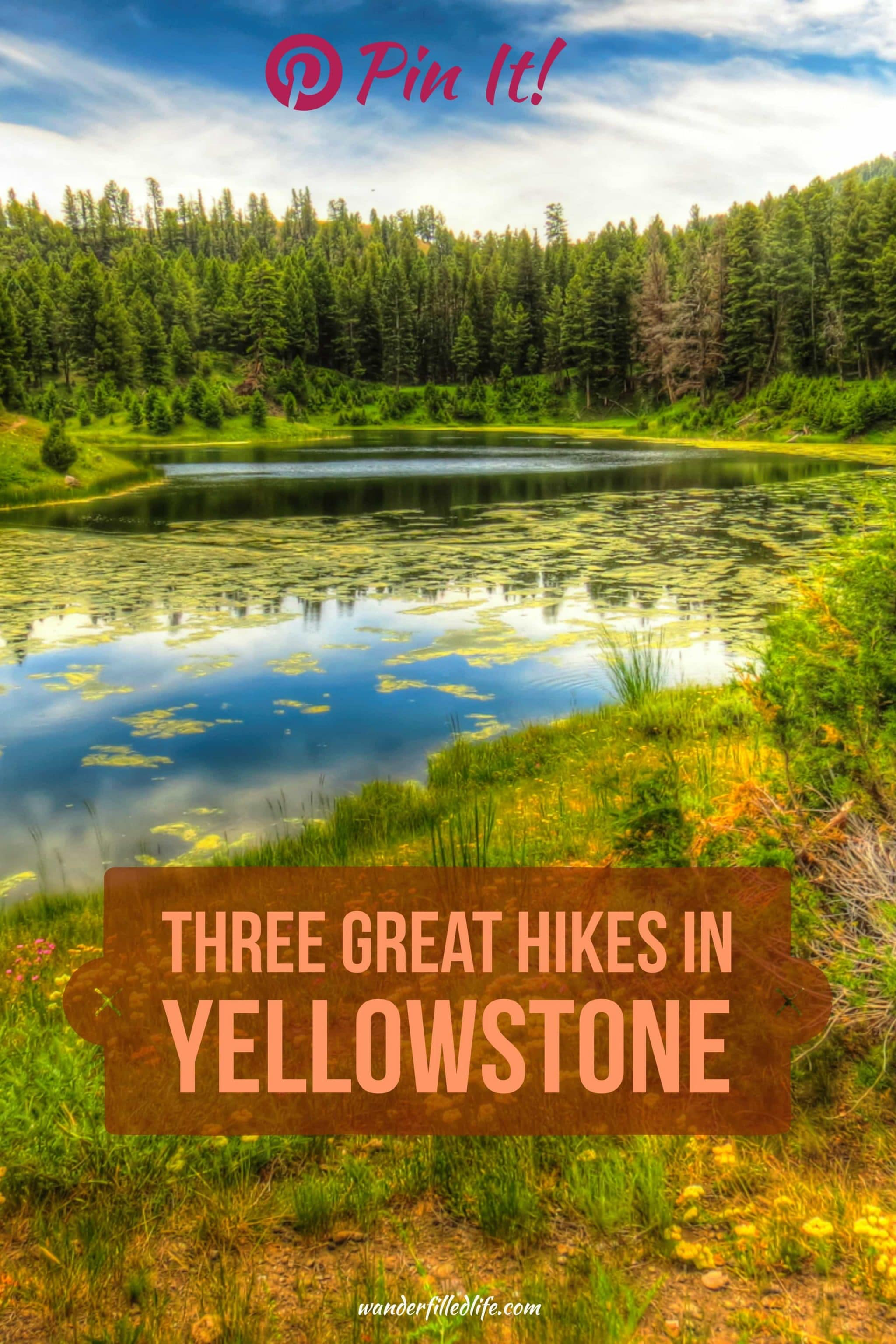 We found solitude and peacefulness, away from the summer crowds, while hiking. Here we share three easy-moderate Yellowstone hikes you can enjoy, too.
