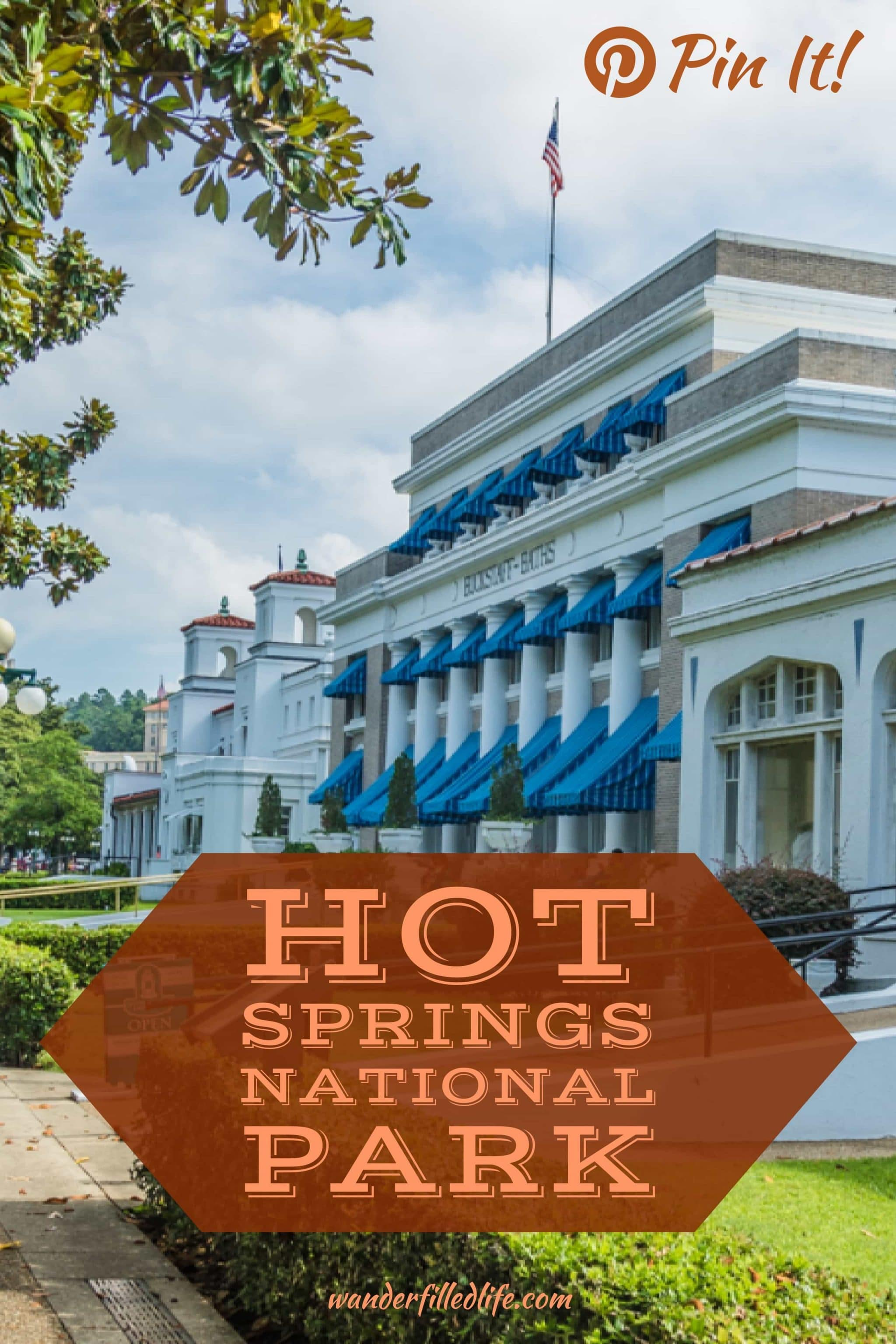 Hot Springs may be the smallest US National Park, but it is full of interesting features: thermal baths, a brewery and seamless integration with the town.
