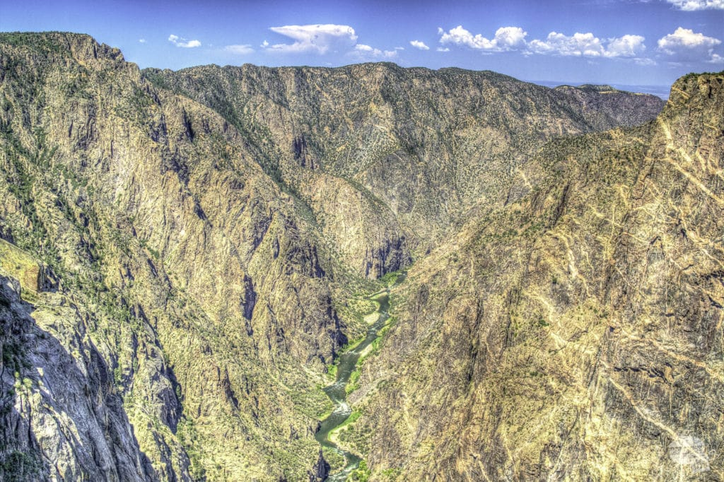 Western edge of the Black Canyon.