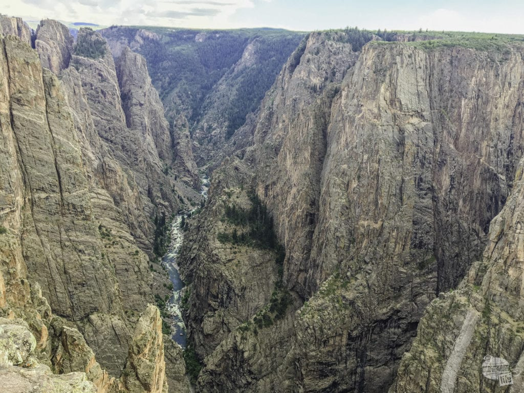 North Rim of Black Canyon of the Gunnison National Park.