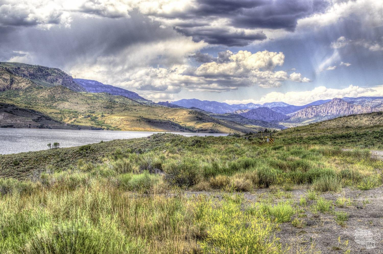 The Blue Mesa Reservoir is the main hub at Curecanti NRA.