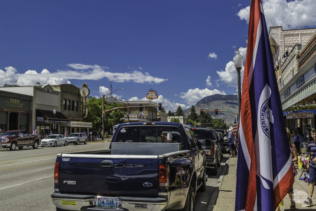 Downtown Cody Wyoming