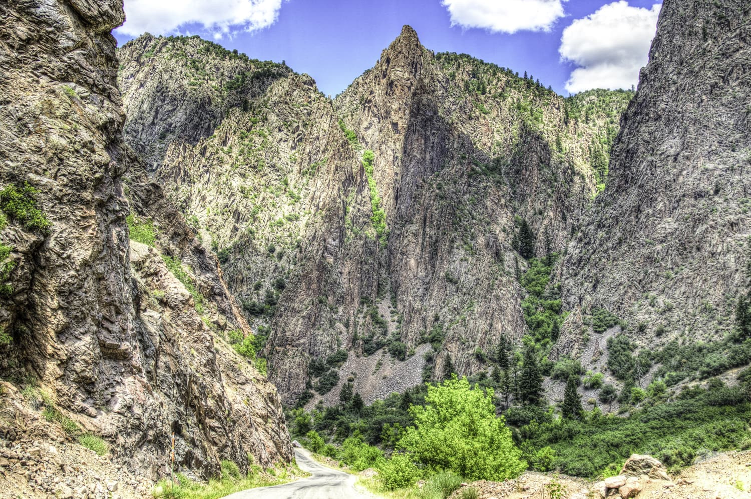 Be sure to drive the East Portal Road at the Black Canyon.