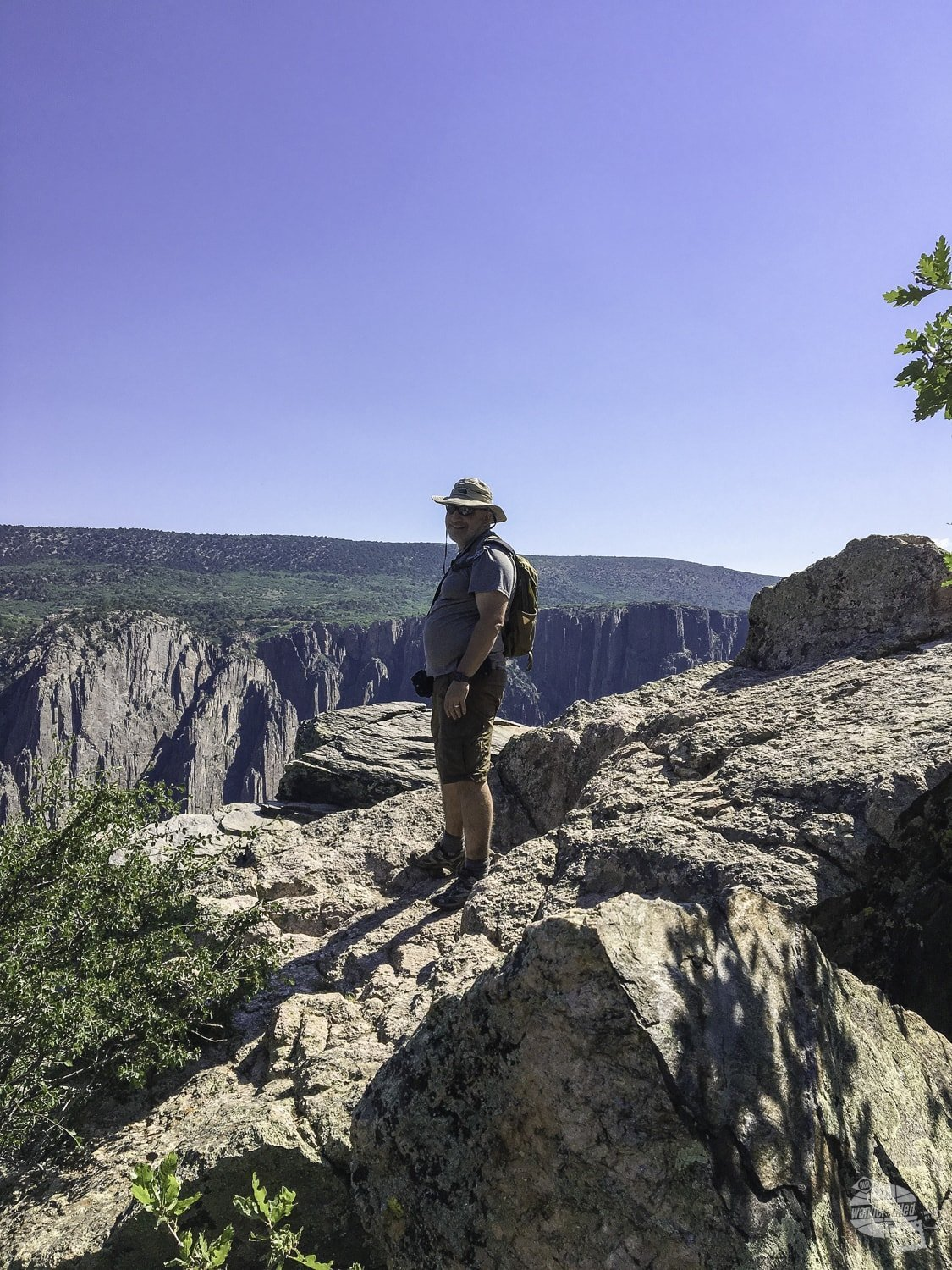 Views from the Oak Flat Trail at Black Canyon NP.
