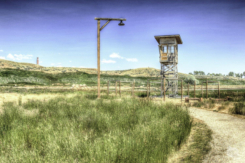 Heart Mountain Guard Tower
