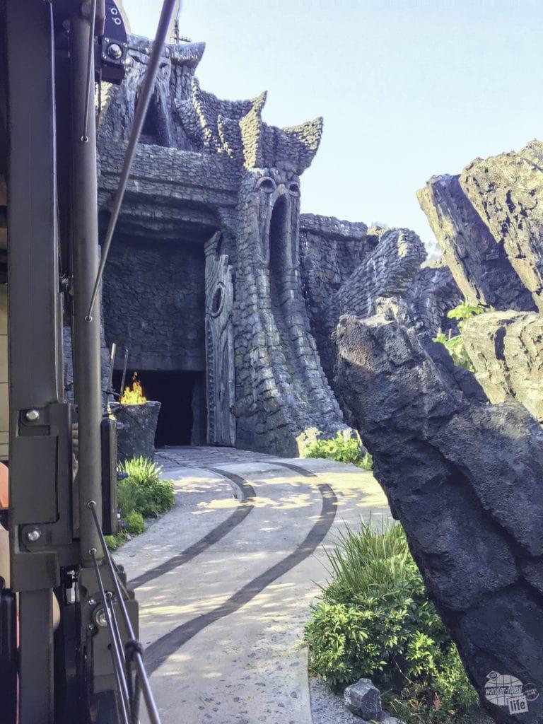 On the way into Kong