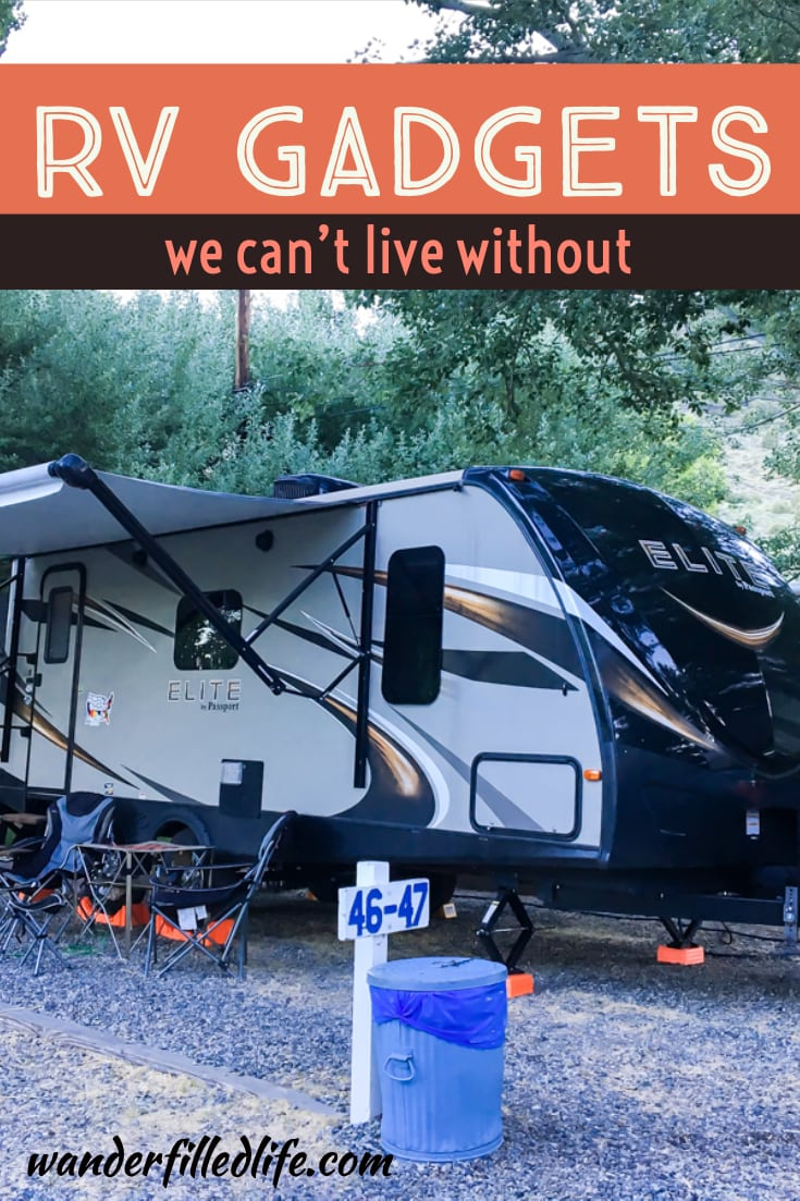 It always amazes me how much difference little RV gadgets and gizmos can make on a camping experience. Check out our favorites from three summers of camping.