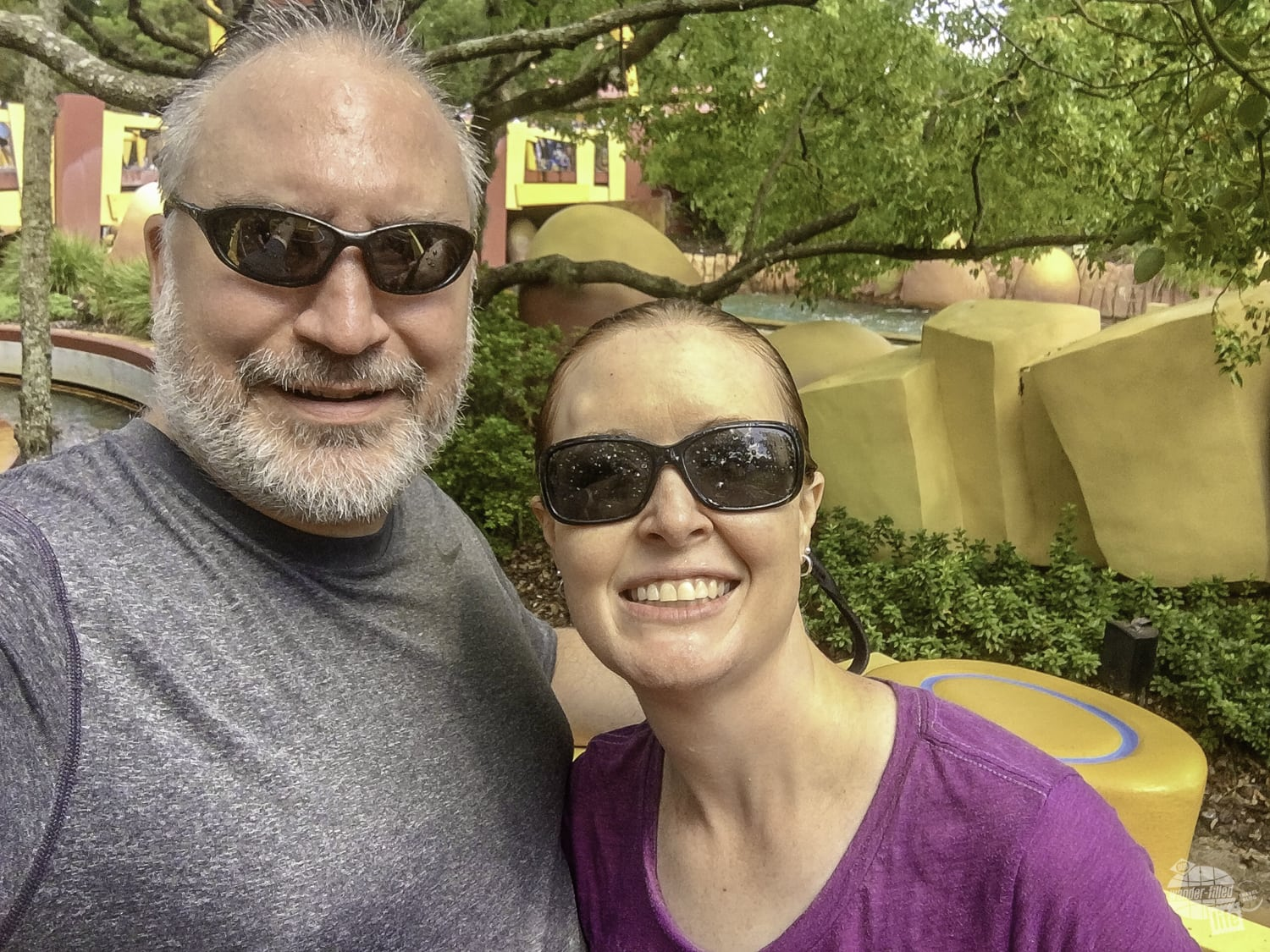 Ripsaw Falls completely soaked us. Quite refreshing on a hot day!