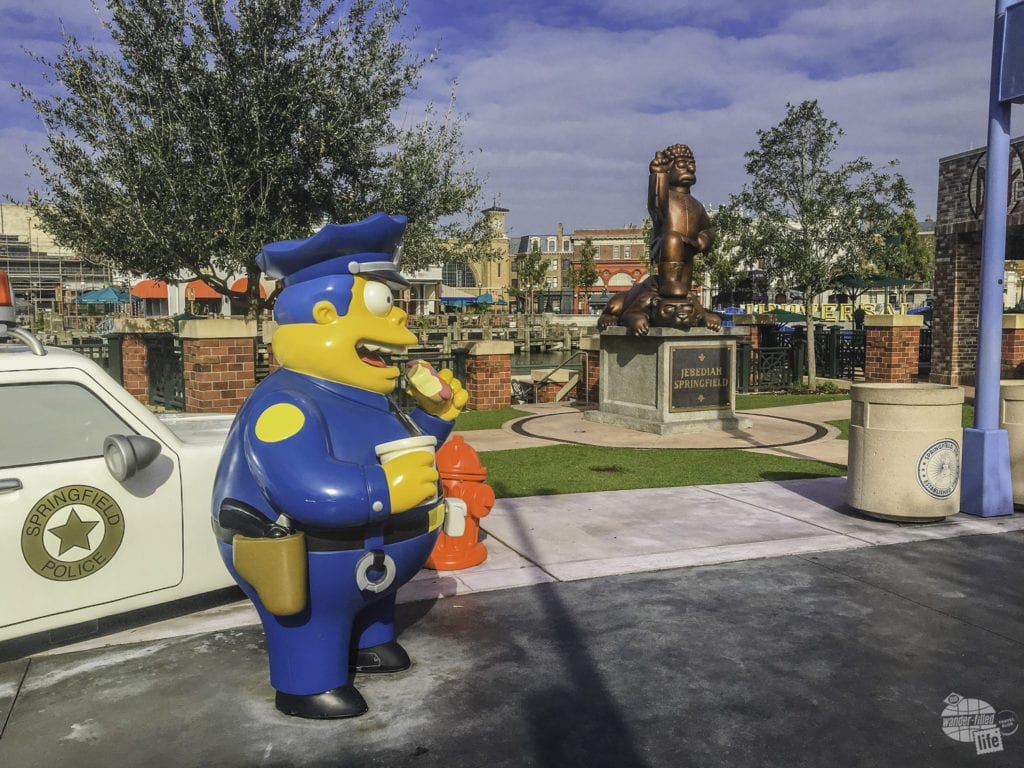 Springfield USA in Universal Studios