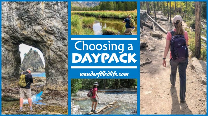 Choosing a Daypack for Hiking and Travel