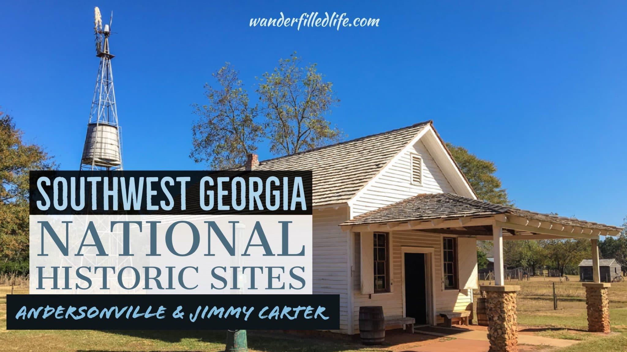 Southwest Georgia National Historic Sites