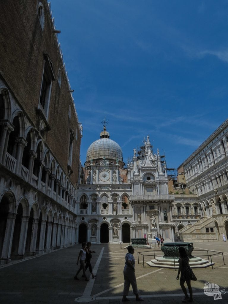 Inside the Doge's Palace