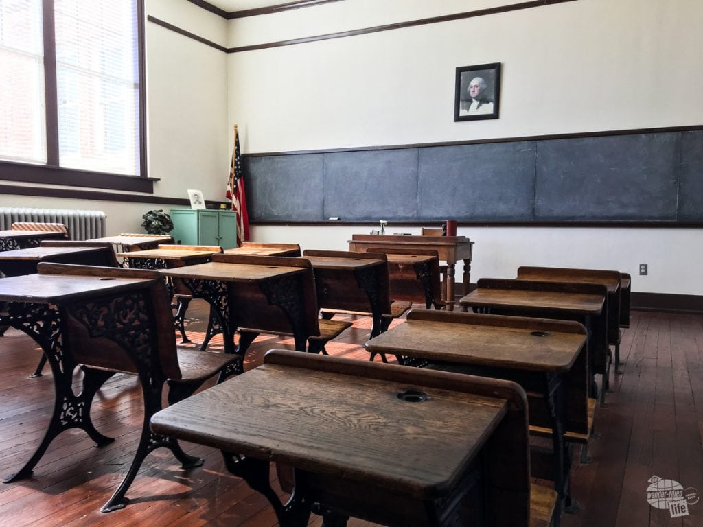 Classroom at Jimmy Carter National Historic Site