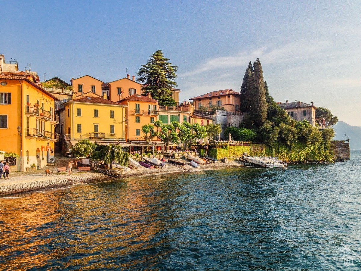 Varenna, on the shore of Lake Como