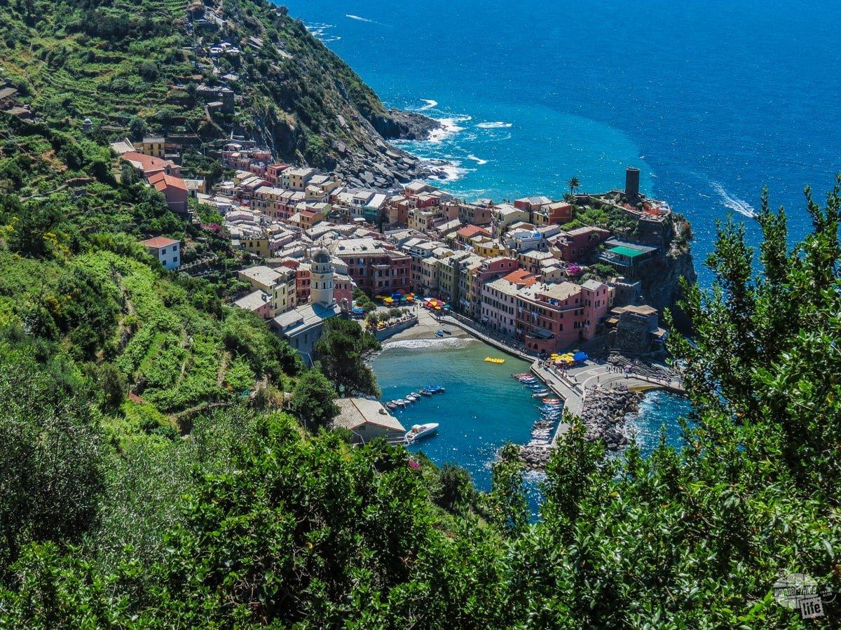 Vernazza, in the Cinque Terre.