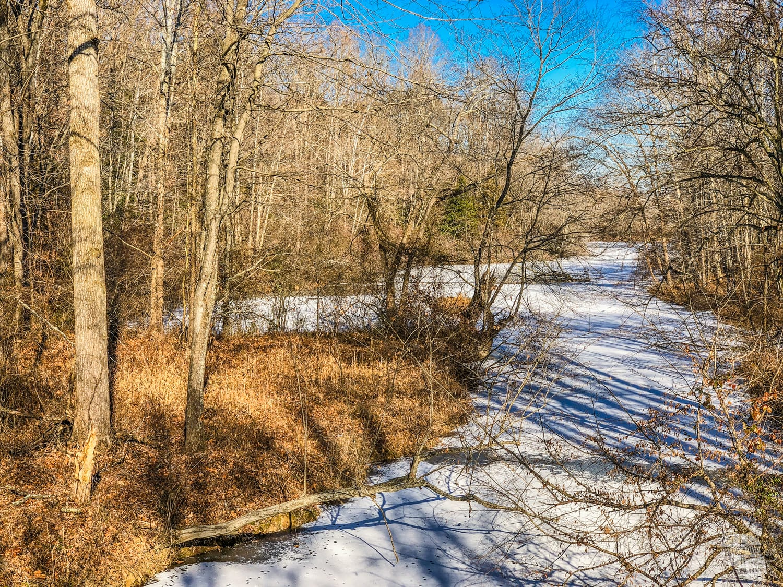 A frozen creek in The Wilderness