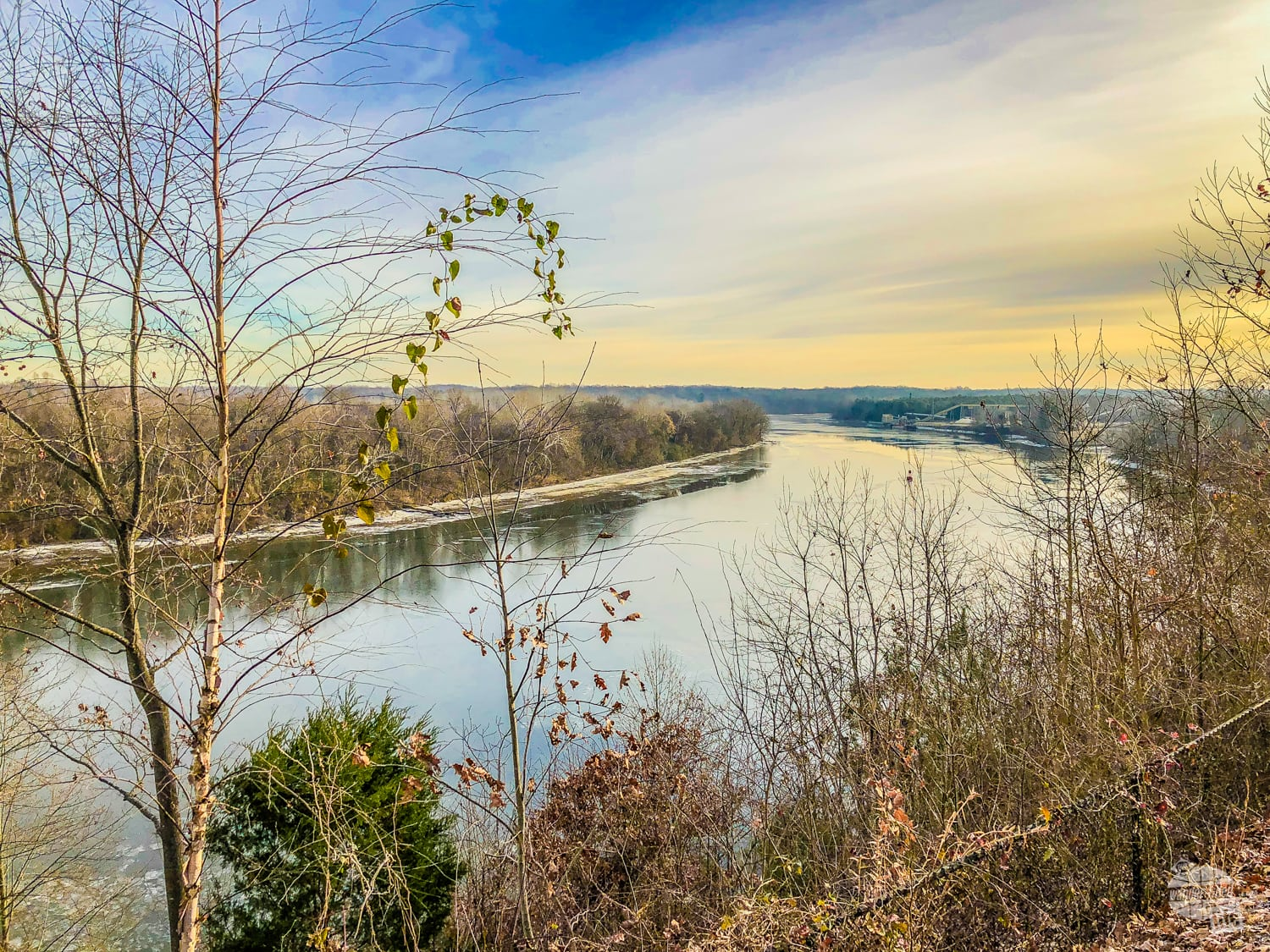 The James River from Drewery's Bluff